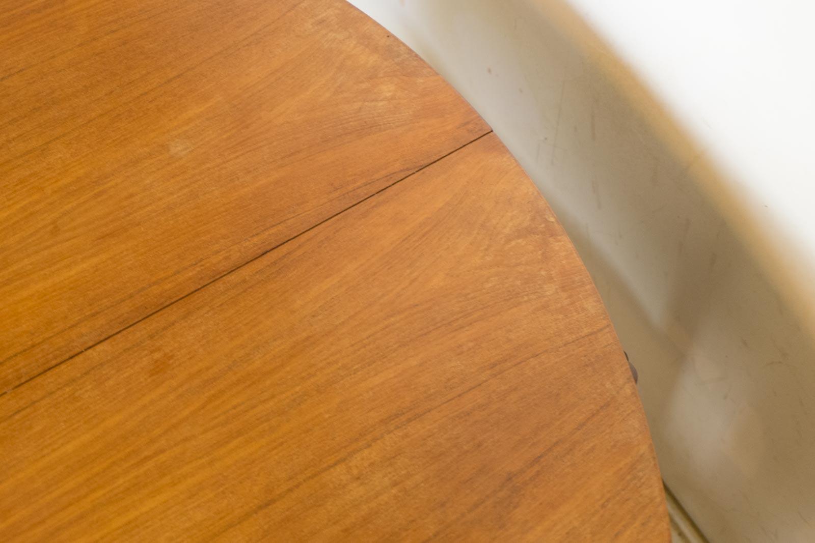 VINTAGE RETRO MID CENTURY TEAK DINING TABLE amp FOUR 4 TUCK  : HV150109 5 from www.ebay.co.uk size 1600 x 1067 jpeg 141kB