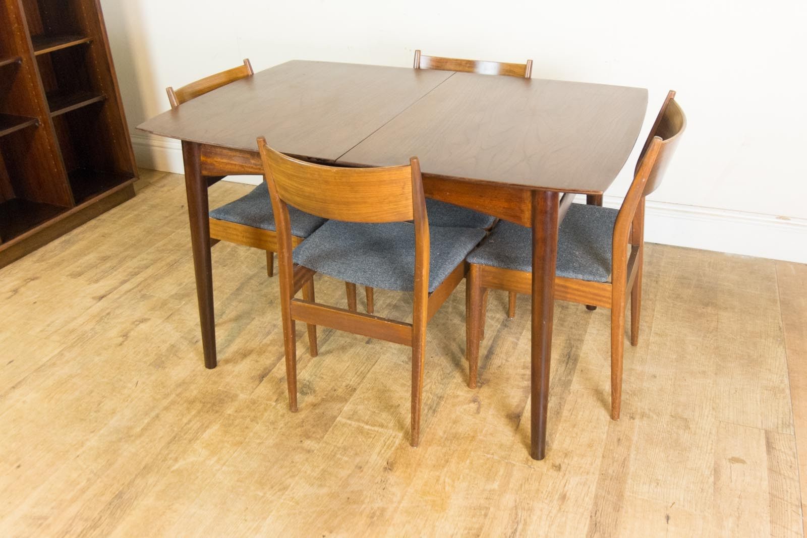 Vintage Retro Afromosia Extending Dining Table And 4 Teak Chairs EBay