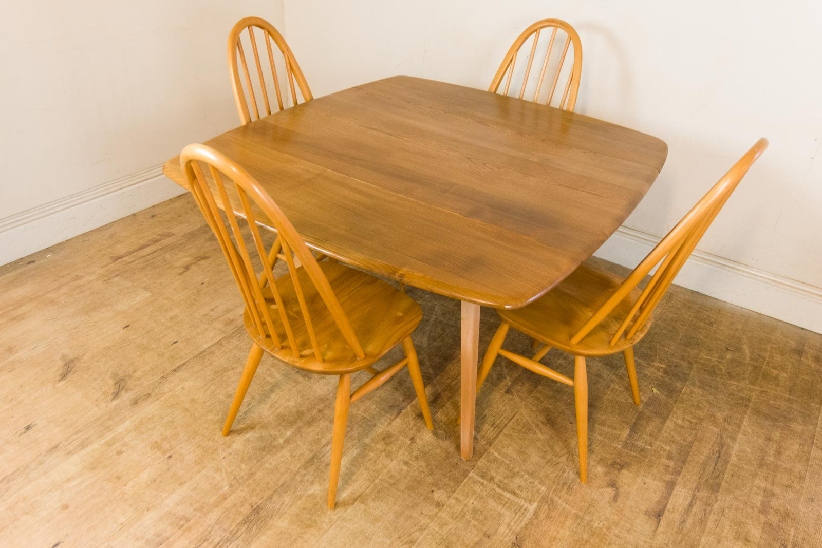 Vintage Retro Ercol Light Elm Drop Leaf Dining Table and 4  : HV201110 4 from www.ebay.co.uk size 1600 x 1067 jpeg 657kB
